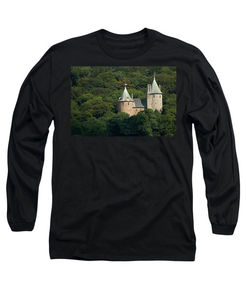 Long Sleeve T-Shirt featuring the photograph Castell Coch by Jeremy Voisey