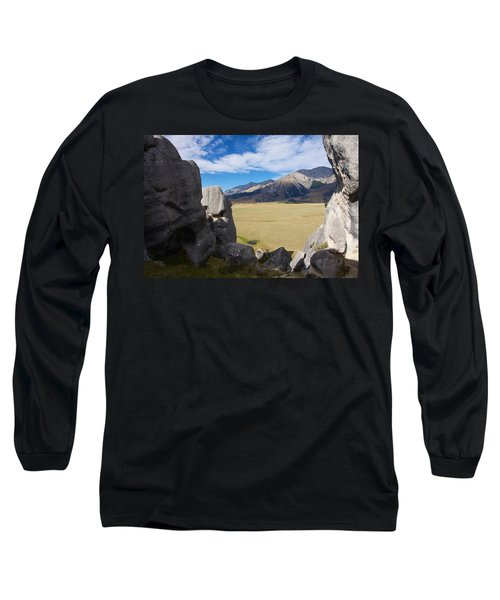 Long Sleeve T-Shirt featuring the photograph Castle Hill #5 by Stuart Litoff