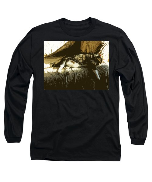 Cat Nap Long Sleeve T-Shirt