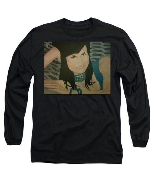 Cat Sansone Long Sleeve T-Shirt
