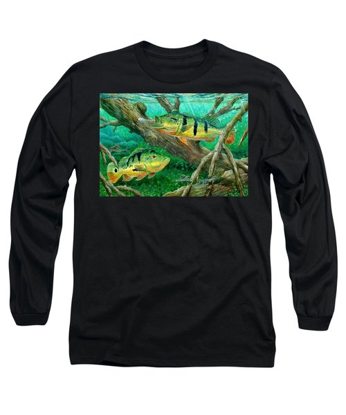 Catching Peacock Bass - Pavon Long Sleeve T-Shirt
