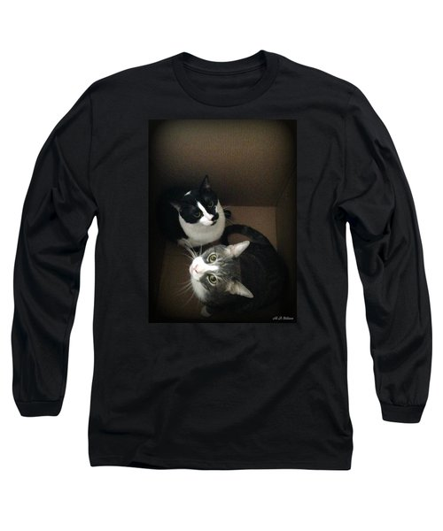 Cats In The Box Long Sleeve T-Shirt