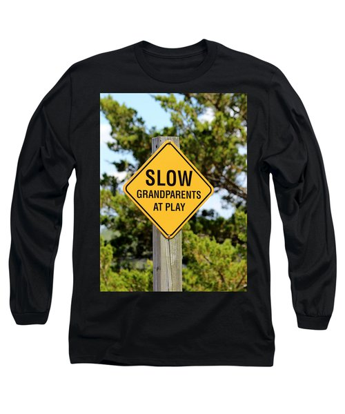 Caution Sign Long Sleeve T-Shirt