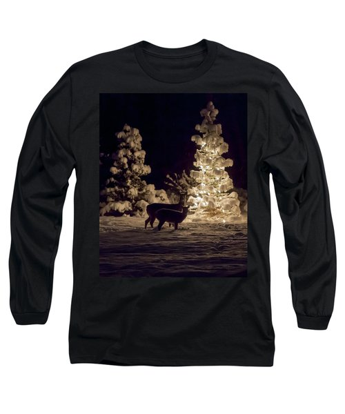 Long Sleeve T-Shirt featuring the photograph Cautious by Aaron Aldrich