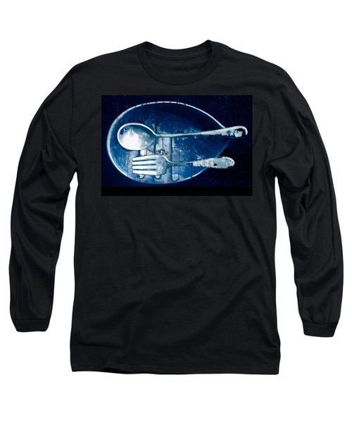 Blue Luster Long Sleeve T-Shirt