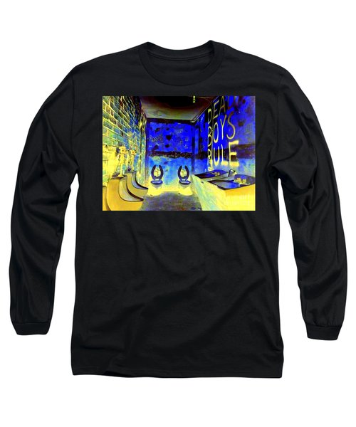 Cbgb's Notorious Mens Room Long Sleeve T-Shirt
