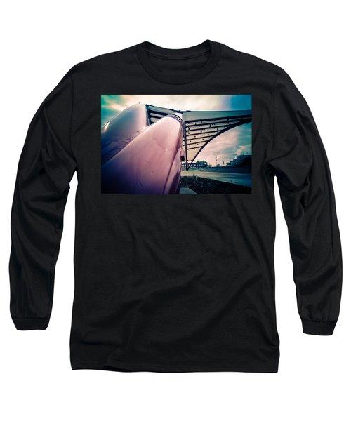 Cedar Rapids Amphitheater Pipes Long Sleeve T-Shirt