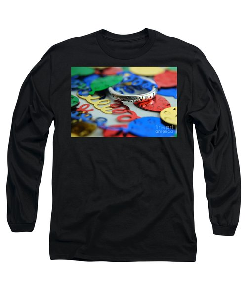 Celebrate Love Long Sleeve T-Shirt by Margie Chapman