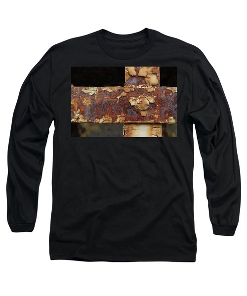 Long Sleeve T-Shirt featuring the photograph Cell Strapping by Fran Riley