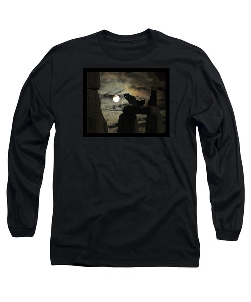 Long Sleeve T-Shirt featuring the photograph Celtic Nights by I'ina Van Lawick