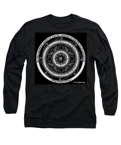 Celtic Spider Mandala Long Sleeve T-Shirt