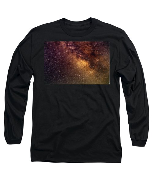 Center Of The Milky Way Long Sleeve T-Shirt