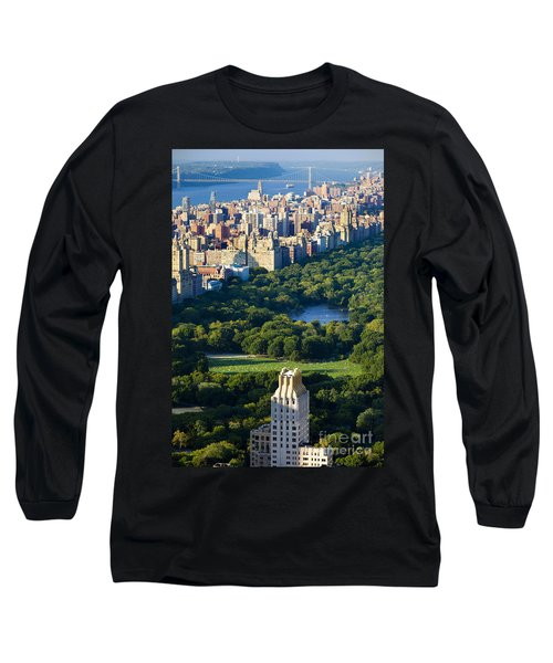 Central Park Long Sleeve T-Shirt by Brian Jannsen