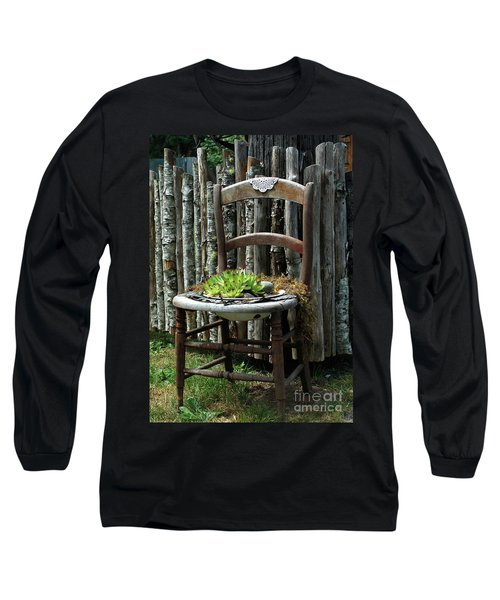 Chair Planter Long Sleeve T-Shirt
