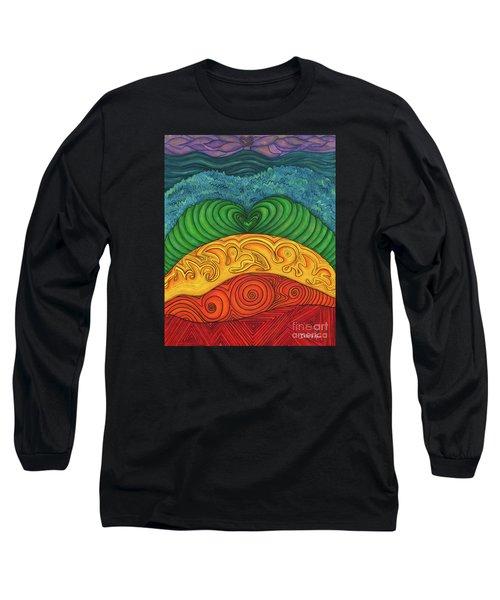 Chakra Ascension Long Sleeve T-Shirt