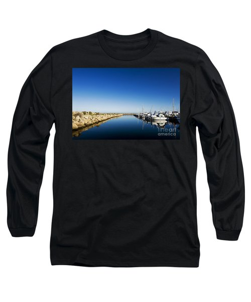 Long Sleeve T-Shirt featuring the photograph Challenger Harbour Of Fremantle by Yew Kwang