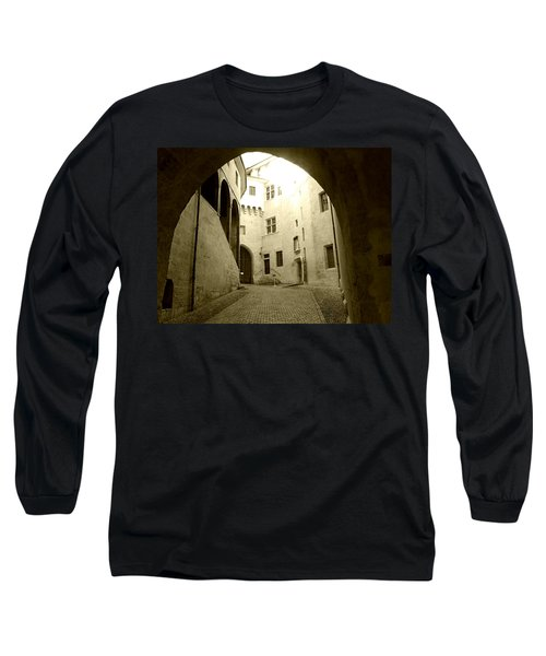 Long Sleeve T-Shirt featuring the photograph Chambery France Gate by Katie Wing Vigil