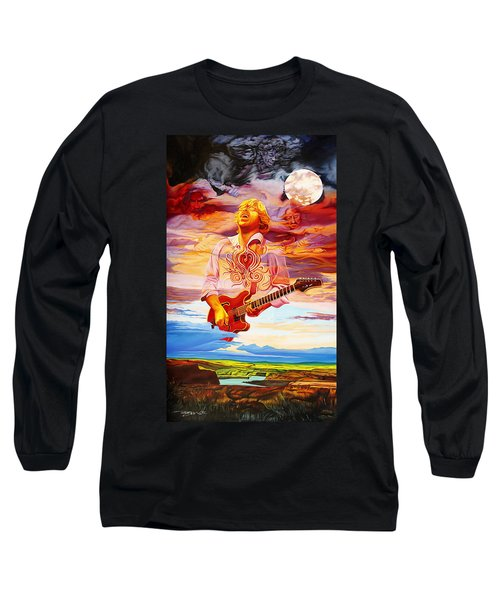 Channeling The Cosmic Goo At The Gorge Long Sleeve T-Shirt