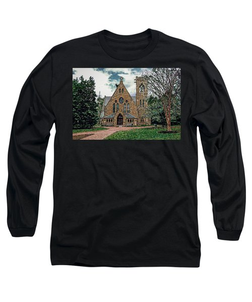 Chapel At University Of Virginia Long Sleeve T-Shirt