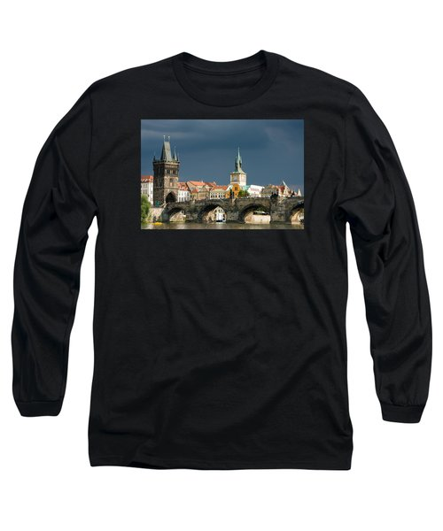Charles Bridge Prague Long Sleeve T-Shirt