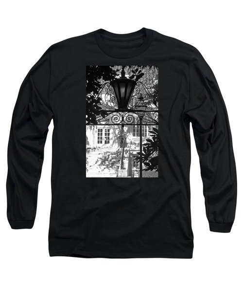 Charleston Gateway II In Black And White Long Sleeve T-Shirt
