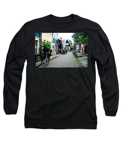 Long Sleeve T-Shirt featuring the photograph Charming Dutch Village by Joe  Ng