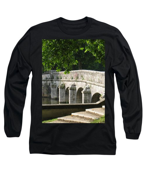 Chateau Chambord Bridge Long Sleeve T-Shirt
