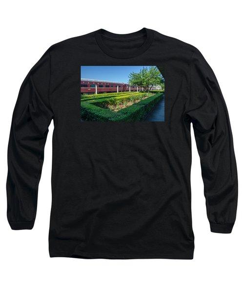 Long Sleeve T-Shirt featuring the photograph Chattanooga Choo Choo 2 by Susan  McMenamin