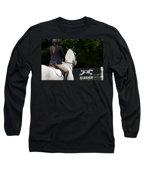 Checking Out The Sign Long Sleeve T-Shirt