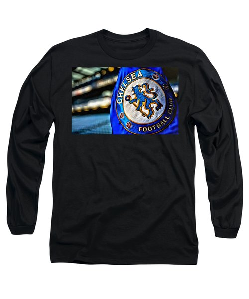 Chelsea Football Club Poster Long Sleeve T-Shirt