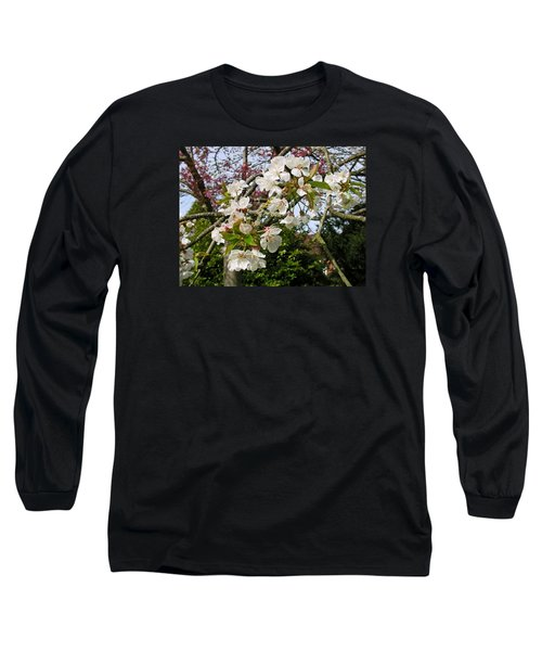 Cherry Blossom In The Spring Long Sleeve T-Shirt