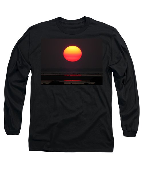 Long Sleeve T-Shirt featuring the photograph Cherry Drop Sunrise by Dianne Cowen