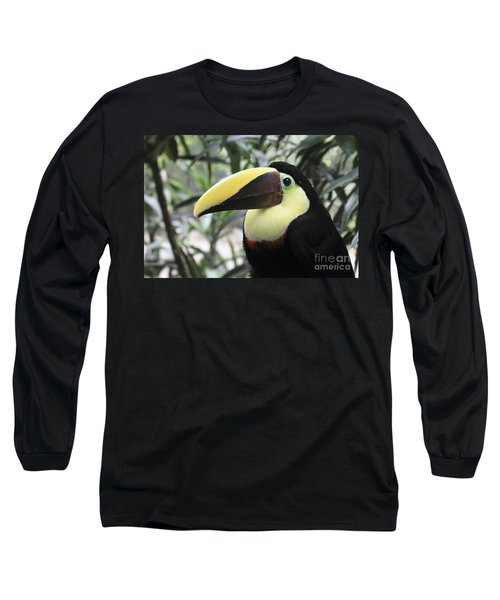 Long Sleeve T-Shirt featuring the photograph Chestnut-mandibled Toucan by Teresa Zieba