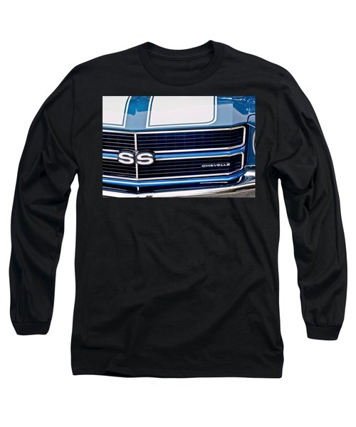 Chevrolet Chevelle Ss Grille Emblem 2 Long Sleeve T-Shirt