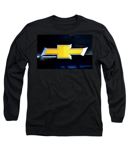 Chevy Bowtie Camaro Black Yellow Iphone Case Mancave Long Sleeve T-Shirt