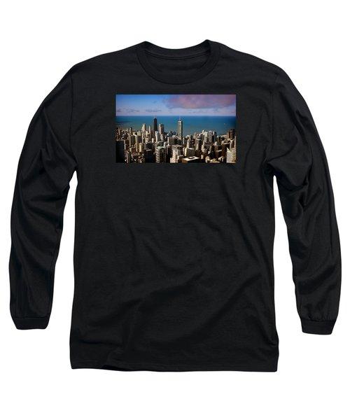 Chicago Before Sunset Long Sleeve T-Shirt