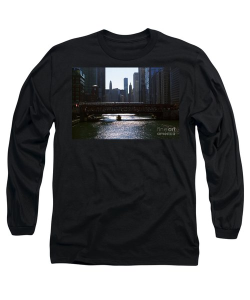 Chicago Morning Commute Long Sleeve T-Shirt
