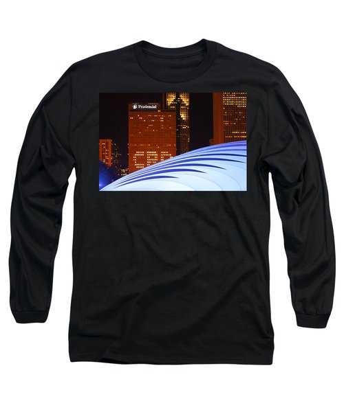 Chicago Skyline Orb Long Sleeve T-Shirt