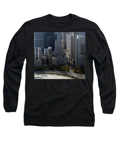 Chicago The Drake Long Sleeve T-Shirt by Thomas Woolworth