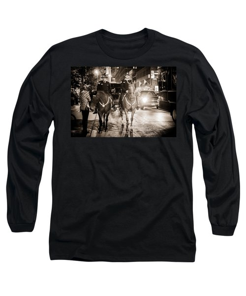 Chicago's Finest Long Sleeve T-Shirt by Melinda Ledsome