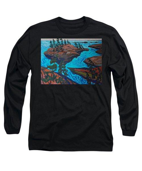 Chickanishing Creek Long Sleeve T-Shirt by Phil Chadwick