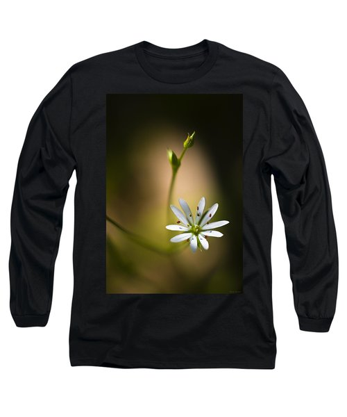 Chickweed Blossom And Bud Long Sleeve T-Shirt