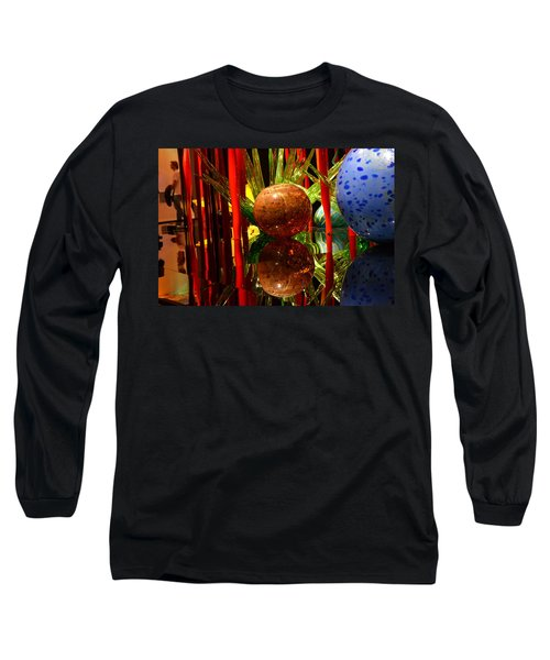 Chihuly-10 Long Sleeve T-Shirt by Dean Ferreira