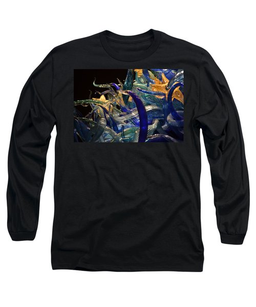Chihuly-3 Long Sleeve T-Shirt by Dean Ferreira