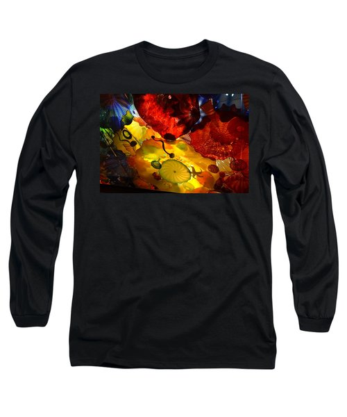 Chihuly-5 Long Sleeve T-Shirt by Dean Ferreira