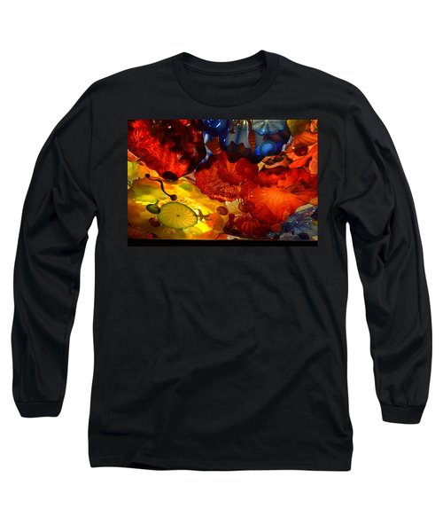 Chihuly-6 Long Sleeve T-Shirt by Dean Ferreira