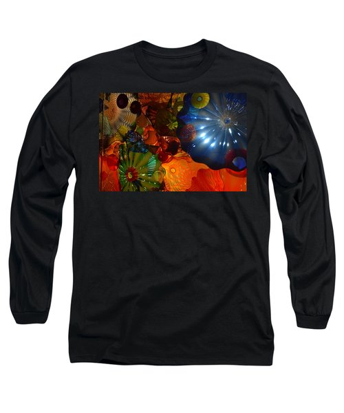 Chihuly-9 Long Sleeve T-Shirt by Dean Ferreira