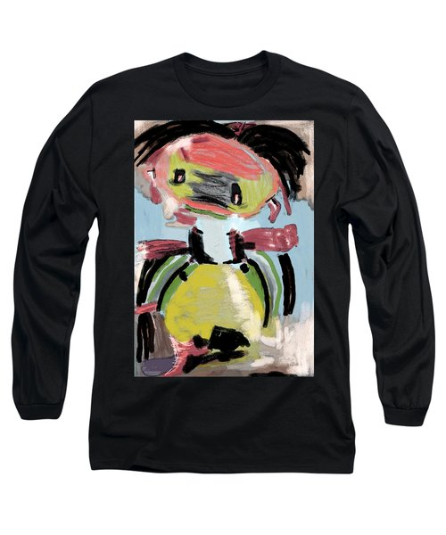 Child's Game Long Sleeve T-Shirt by Tine Nordbred