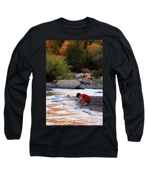 Long Sleeve T-Shirt featuring the photograph Childs Play by Melanie Lankford Photography