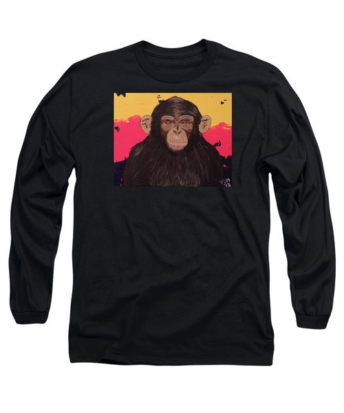 Chimp In Prime Long Sleeve T-Shirt